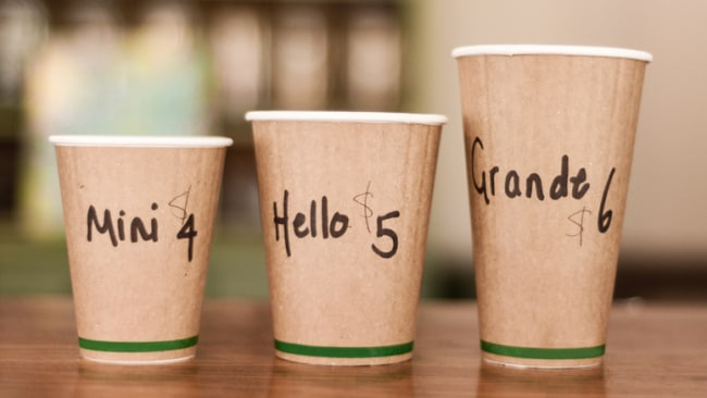 Quit those takeaway coffees. Photo: iStock