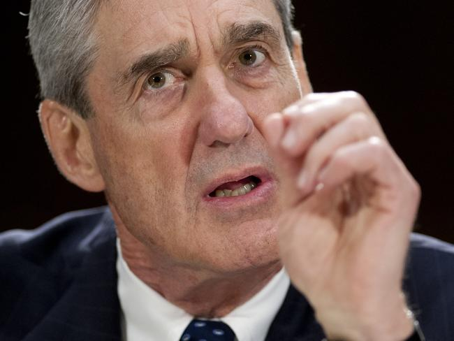 Federal Bureau of Investigation (FBI) Director Robert Mueller is investigating Russia's link to the Trump campaign. Picture: AFP