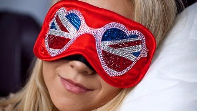 The eye-masks are plane over-the-top. Picture: Virgin Atlantic