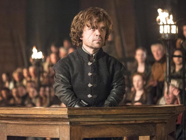 Peter Dinklage in a scene from  <i>Game of Thrones</i>. Picture: AP Photo/HBO, Helen Sloan