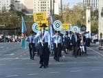 Anzac Day memorial parade, Adelaide. Picture: Tricia Watkinson