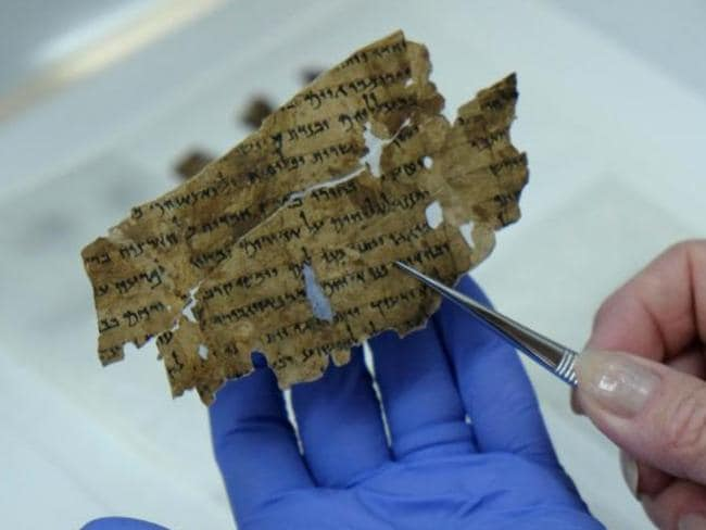 The scrolls are originally believed to have been written by an ancient Jewish sect called the Essenes.