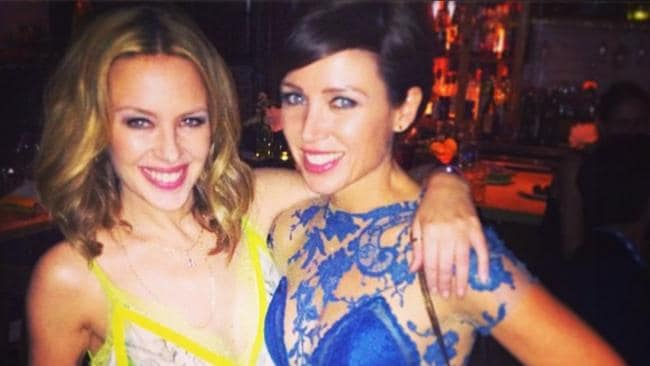 Dannii Minogue and sister Kylie both know what it's like to be petite. Picture: Instagram. New York City