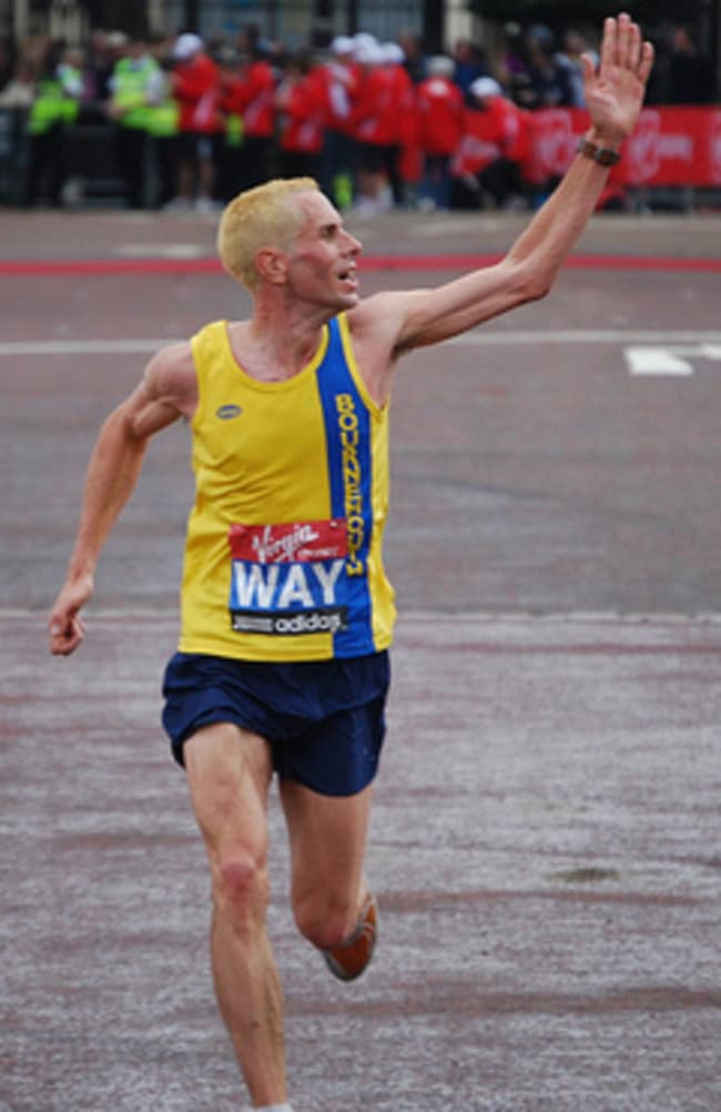 Steve Way is England's big hope in the marathon.