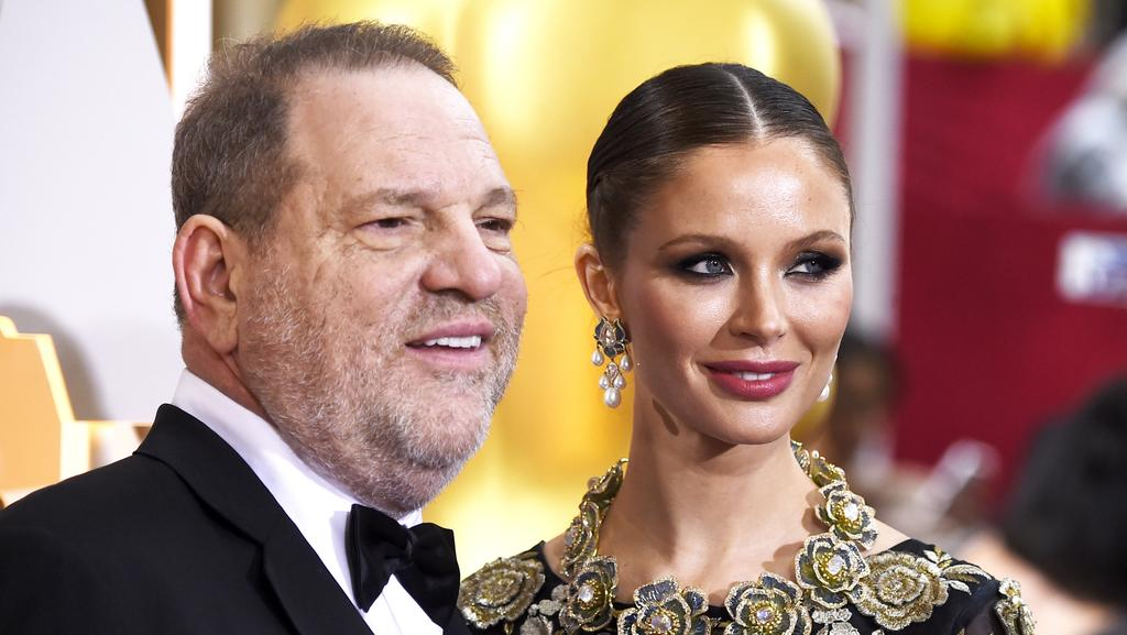 Producer Harvey Weinstein is said to be devastated about his wife, designer Georgina Chapman, leaving him. Picture: Frazer Harrison/Getty Images