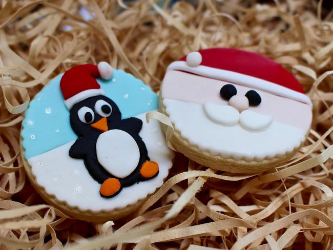 One Sweet Chick's Christmas Cookies. Picture: Lindsey Hoad