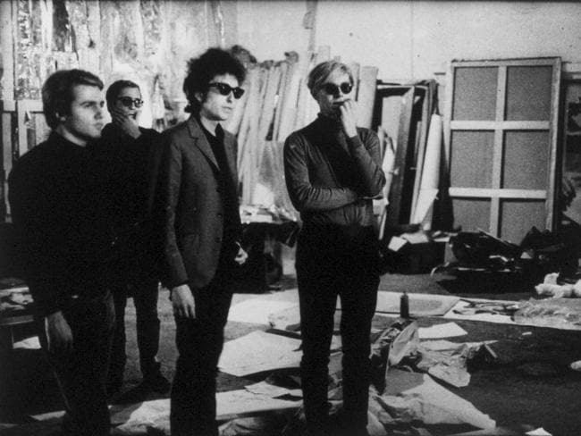 Bob Dylan and other celebrities were regulars at the Factory.