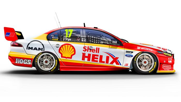 Scott Pye's No. 17 DJR Team Penske Ford Falcon.