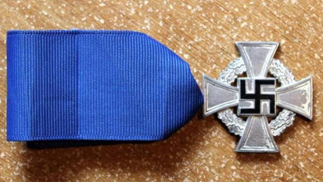 Third Reich 25 Years Faithful Service medal: $75