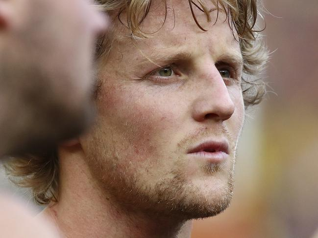 AFL - Grand Final - Adelaide Crows v Richmond Tigers at the MCG. Rory Sloane at 3-qtr time Picture Sarah Reed