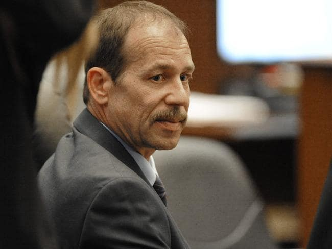 On trial ... Theodore Wafer sits in court at his second-degree murder trial in Detroit. Picture: AP Photo/Detroit News/David Coates