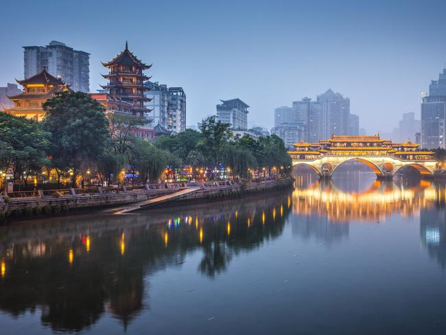Chengdu is a city tourists are slowly starting to discover. Picture: iStock