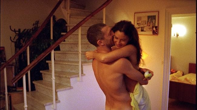 Vincent Cassel and Monica Bellucci in Irreversible.