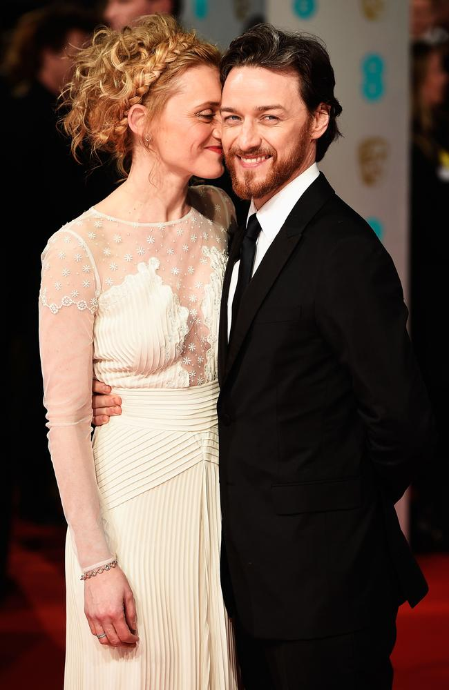 X-Men star James McAvoy and wife Anne-Marie Duff to ...
