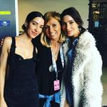 "The 2016 ARIA Awards via social media ... Kasey Chambers with The Veronicas, ""Two of my fave gals....."" Picture: Instagram"