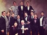 "Actor Lincoln Younes posts, ""The boys of Home and Away!!! #logies"" Picture: Instagram"