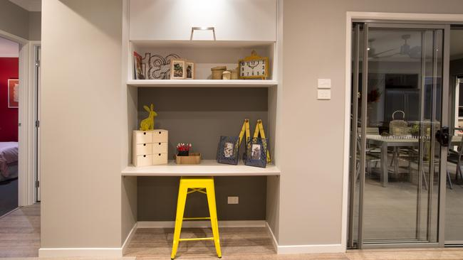 utility room design ideas photos - Study nooks on trend as ers choose media rooms extra