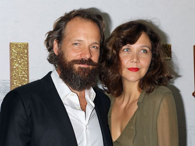 Maggie Gyllenhaal and husband Peter Sarsgaard attend 'The Magnificent Seven' New York premiere, September 19, 2016. Photo: Jim Spellman/WireImage via Getty.