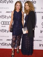 Alex Smart and Genevieve Smart at the 2014 InStyle and Audi Women of Style Awards, The entertainment Quarter, Sydney. (Pictures Justin Lloyd)