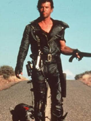 Mel Gibson in the Australian outback in a still from Mad Max 2. Picture: Supplied