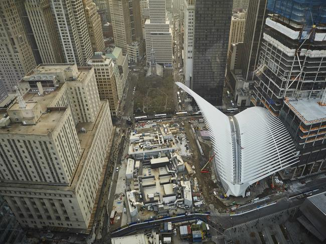 Westfield S World Trade Centre Mall Rises From The Ashes