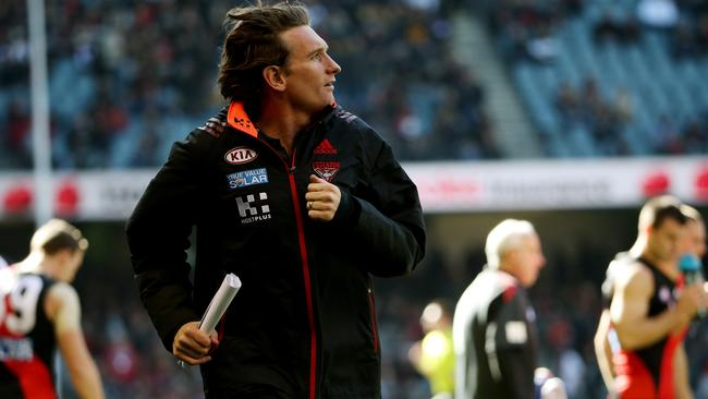 Will James Hird make his way back to the coaches box?