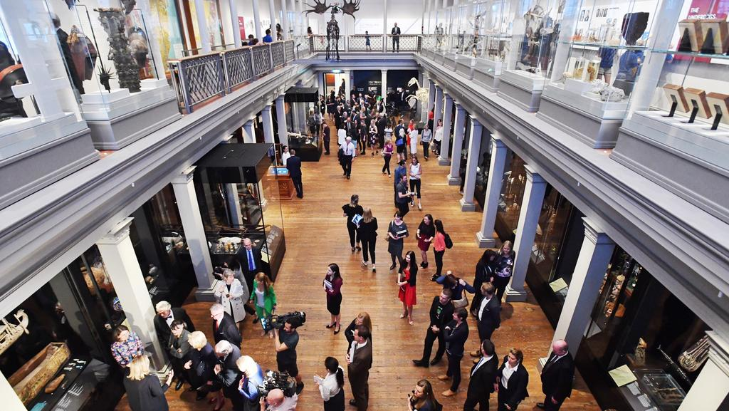 The opening of the new Westpac Long Gallery. Picture: AAP Image/Mick Tsikas