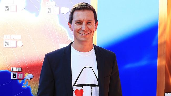 Duke of comedy ... Rove McManus was quick to accept the 'honour'.