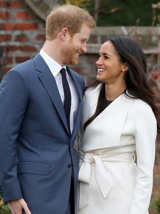 The happy couple. Picture: Chris Jackson/Chris Jackson/Getty Images