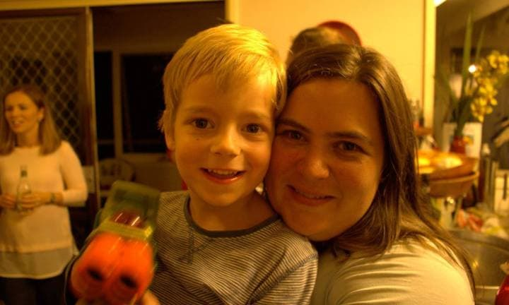 Alys Gagnon and her son, William. Image: supplied.