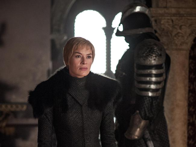 Lena Headey as Cersei Lannister in the season seven finale of Game of Thrones. Picture: Supplied/Foxtel