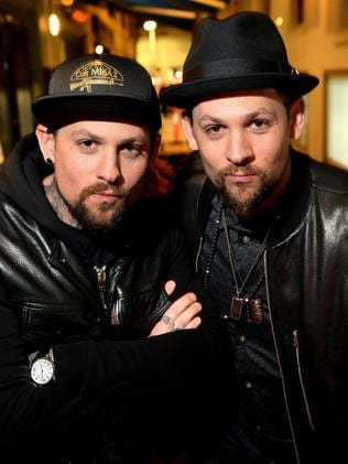 Benji and Joel Madden. Picture: Mike Keating.