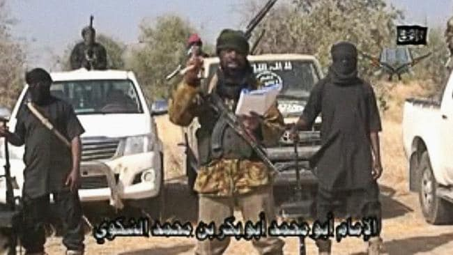 A screen grab made on January 20, 2015 from a video of Nigerian Islamist extremist group Boko Haram.