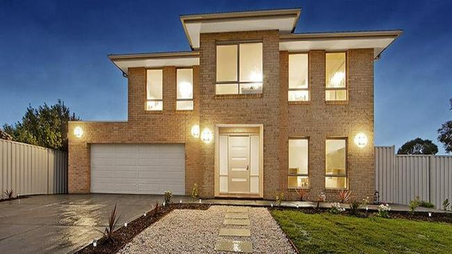 The five-bedroom house at 8 Hunt Court, Wantirna South, sold at auction for $1.07 million.