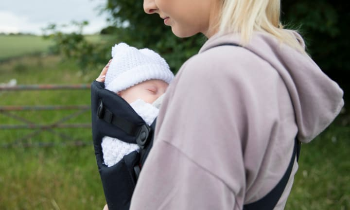 Mum viciously attacked with wooden stake while wearing baby in sling
