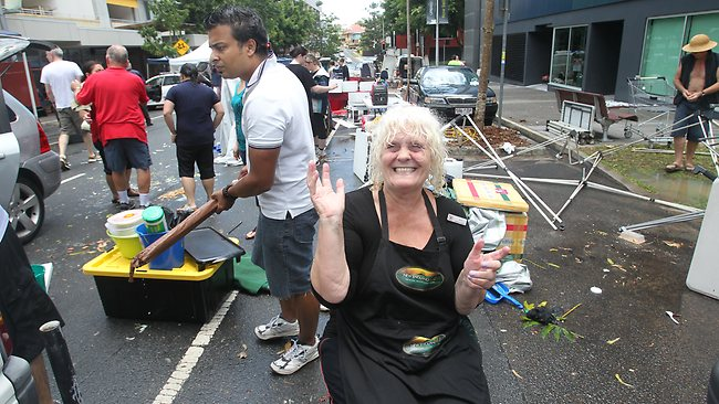 Anne Thomson lost her Kelvin Grove market stall
