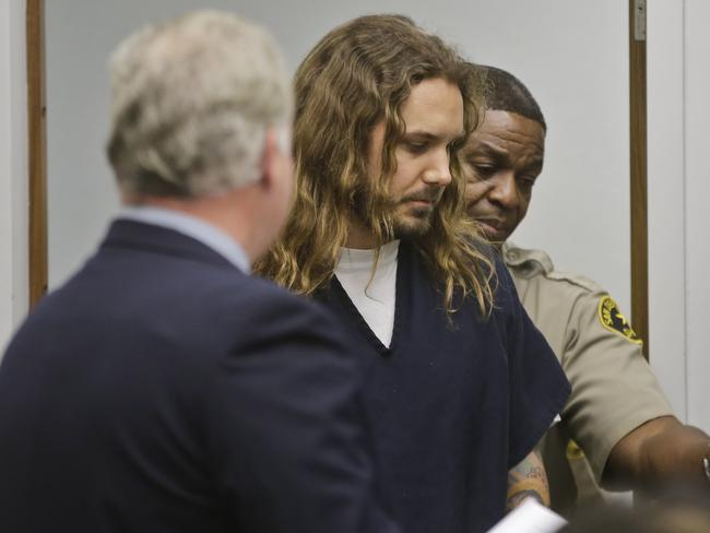 Prison time ... Tim Lambesis, the lead singer for the Metal band As I Lay Dying pleaded guilty to a plot to hire a hitman to murder his estranged wife.