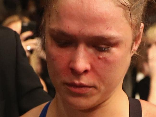 Biggest hint of Rousey's next challenge
