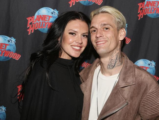 Aaron Carter and girlfriend Madison Parker were arrested last weekend. Picture: Bruce Glikas/Bruce Glikas/FilmMagic