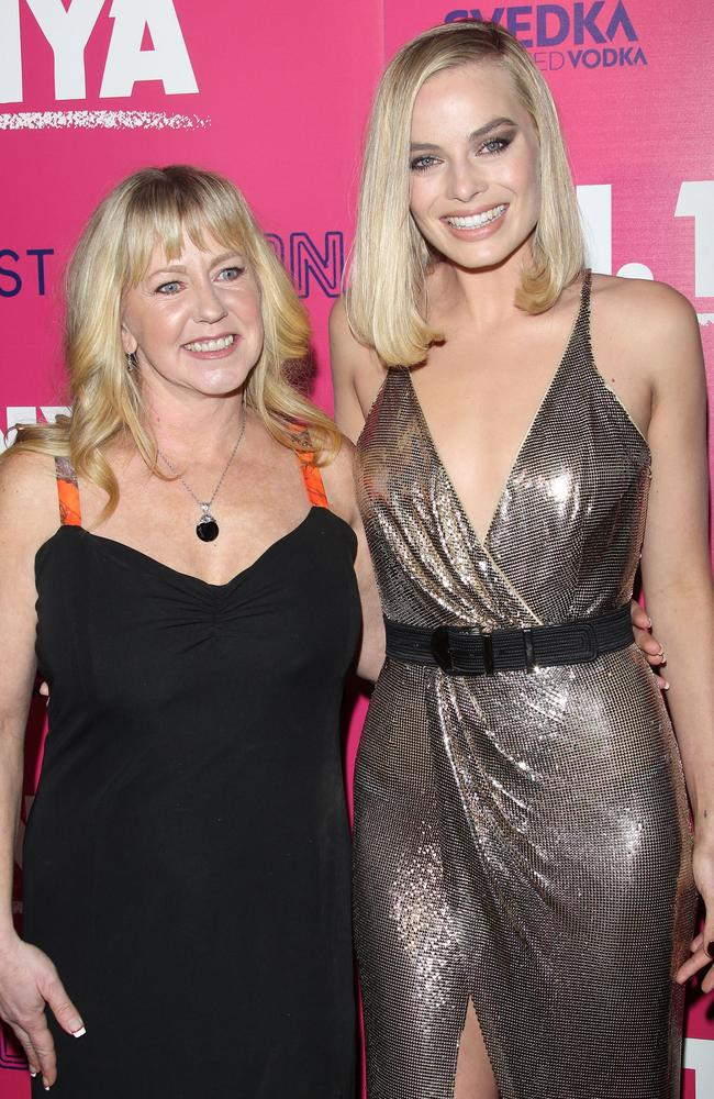 Tonya Harding and Margot Robbie at the premiere of I, Tonya. Harding has made explosive new claims in an upcoming TV doco. Picture: Splash