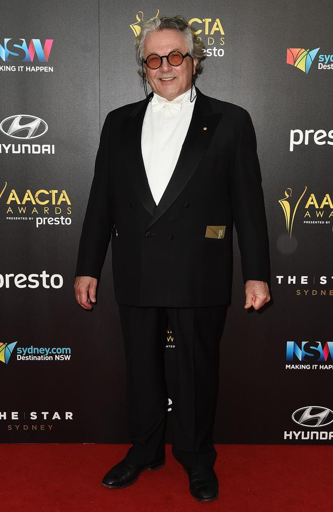 George Miller arrives ahead of the 5th AACTA Awards Presented by Presto at The Star on December 9, 2015 in Sydney, Australia. Picture: AAP