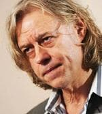 <p>Musician Sir Bob Geldof receives the title of Honorary Ambassador for Brisbane, ahead of speaking at Queensland University of Technology (QUT) Business Leaders Forum in Brisbane later in evening. Pic. Tony Phillips</p>