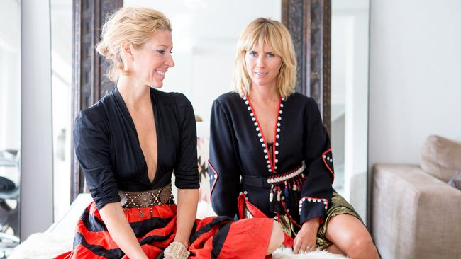 Heidi Middleton and Sarah-Jane Clarke of Sass and Bide