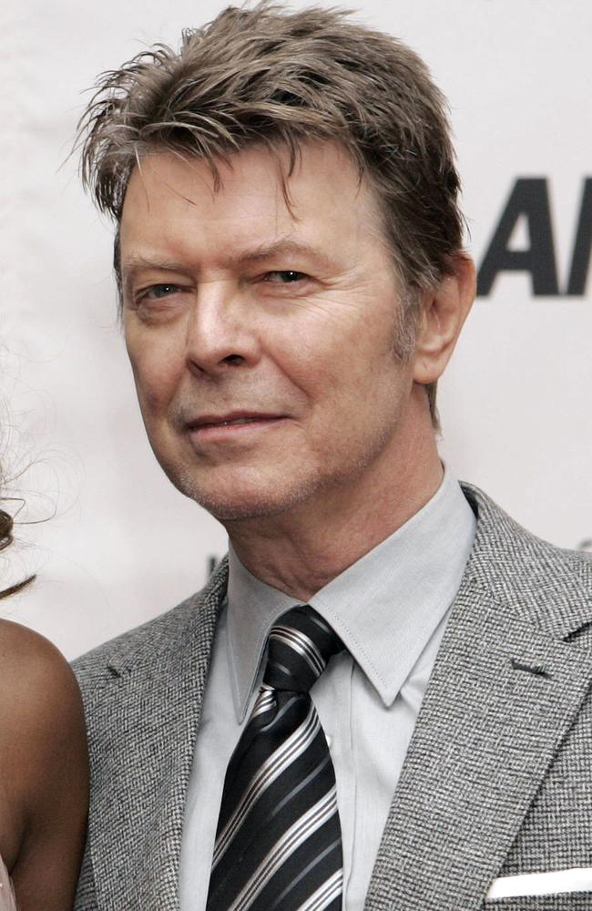 David Bowie has been praised for the dignified way in which his life ended. Picture: AFP