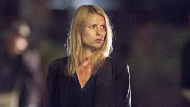 Claire Danes as Carrie Mathison in Homeland. Picture: Showtime