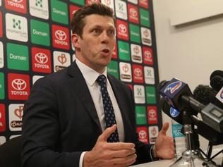 Crows CEO Andrew Fagan about Dangerfield