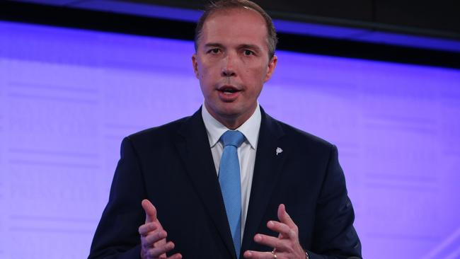 Health Minister Peter Dutton says he is still planning to charge pensioners $7 to see a GP. Picture: News Corp Australia.