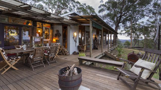 Funky Wild West in the Aussie Bush is a wilderness paradise. Photo: Airbnb
