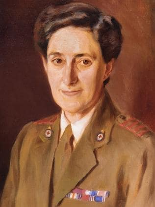 Battlefield detective ... Vera Deakin traced tragic personal stories. Picture courtesy of the Australian War Memorial.