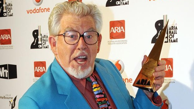 Minimum security ... Rolf Harris will reportedly be transferred to an open prison.